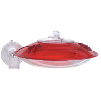 Droll-Yankee-Window-Mount-Hummer-Feeder-W/-Nectar-Guard