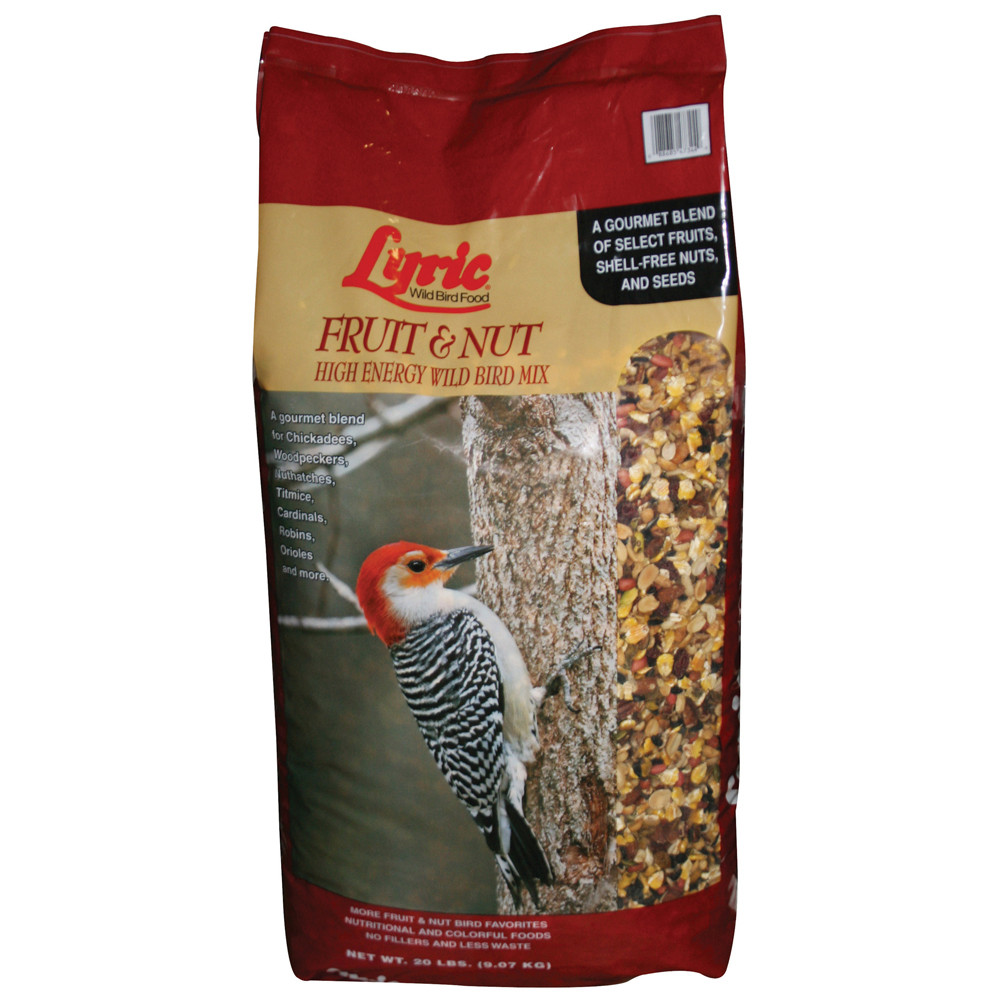 Lyric-20lb-Fruit-&-Nut-Wild-Bird-Food