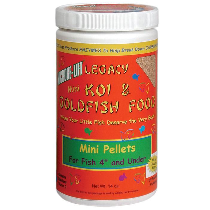 Eco-Labs-14oz-Mini-Pellets-Koi-&-Goldfish-Food