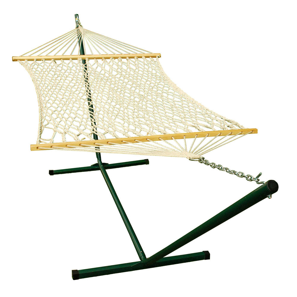 12'-Steel-Stand-and-11'-Rope-Hammock-Combination