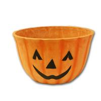 """12""""-Timberblend-Pumpkin-Face-Planter-by-Austrum"""