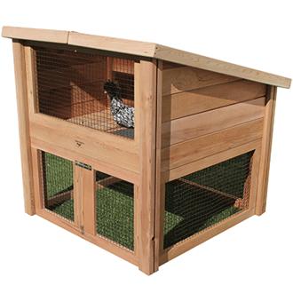 """Gronomics-Chicken-Coop-Pet-Cottage-4'x4'x4'2"""""""
