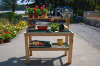 Garden Potting Table Bench