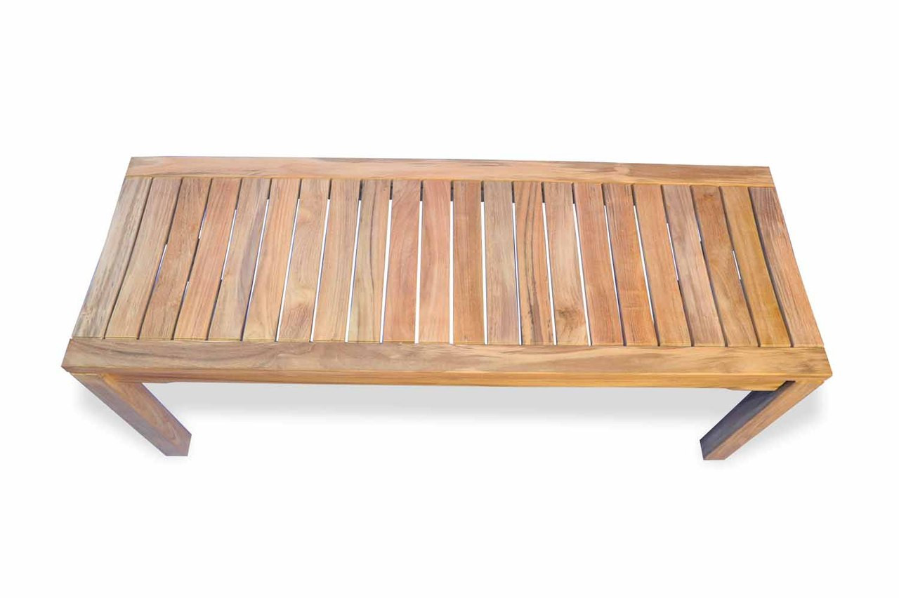 Teak-Rosemont-Backless-Bench-48in-by-Regal-Teak
