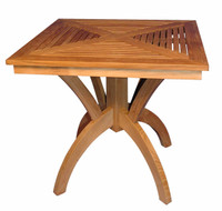 Teak-Pedestal-Table-31in-Sq-by-Regal-Teak