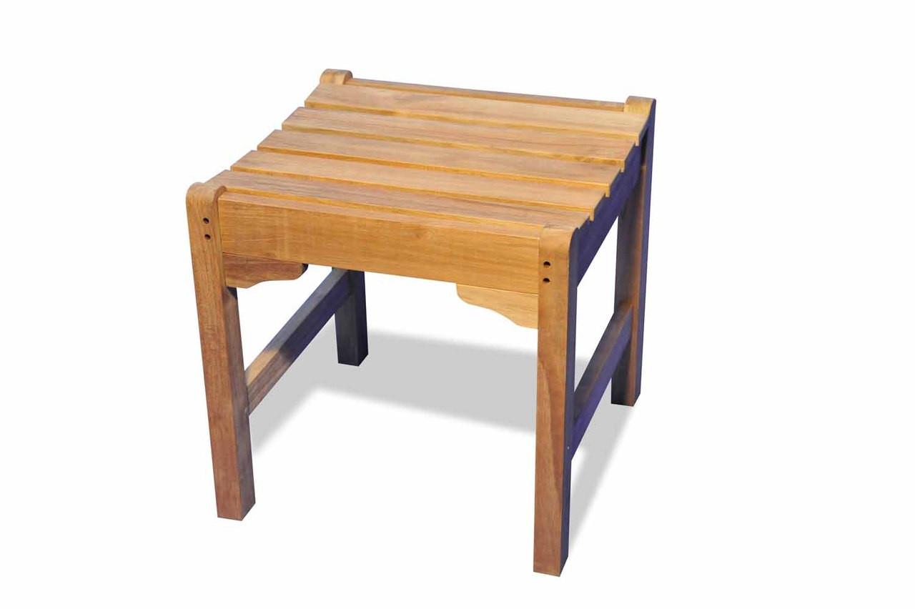 Teak Furniture Teak Stool Single Seat