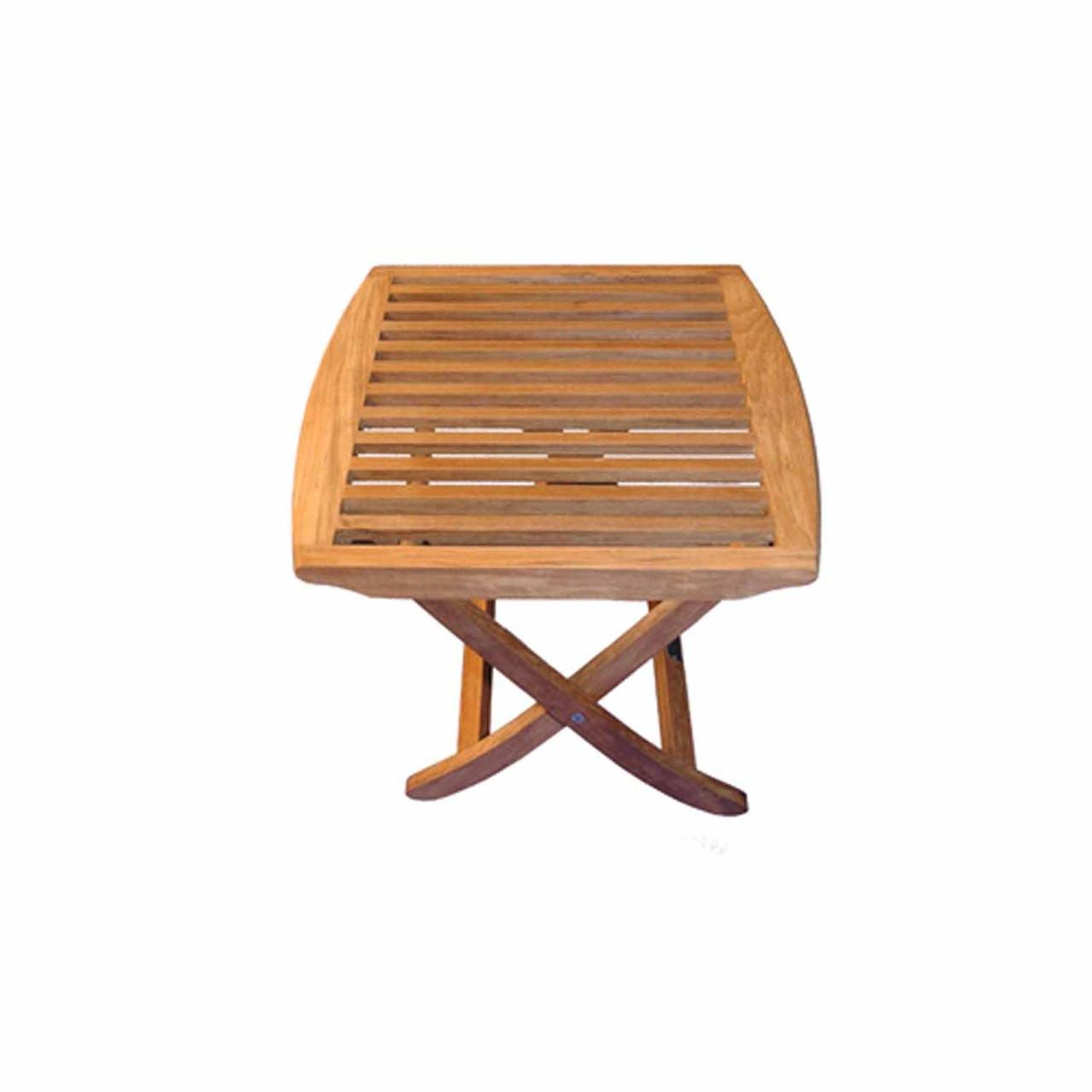 Teak Furniture Teak End Table or