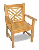 Teak-Chippendale-Chair-by-Regal-Teak