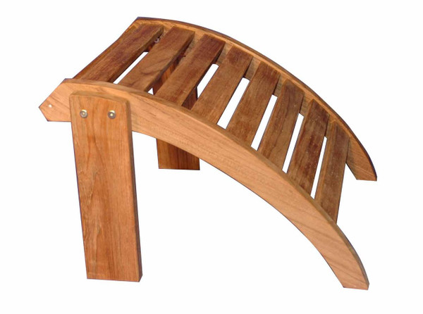 Teak Furniture Adirondack Ottoman by Regal