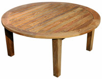 Teak Furniture Teak Round Coffee Table