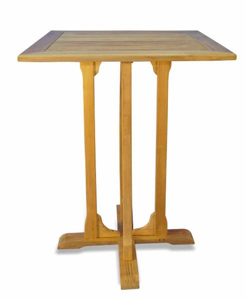 Teak Furniture Teak Square Bar Table
