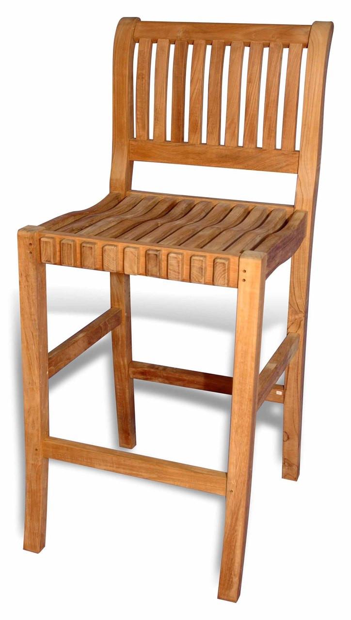 Teak Furniture Teak Bar Chair