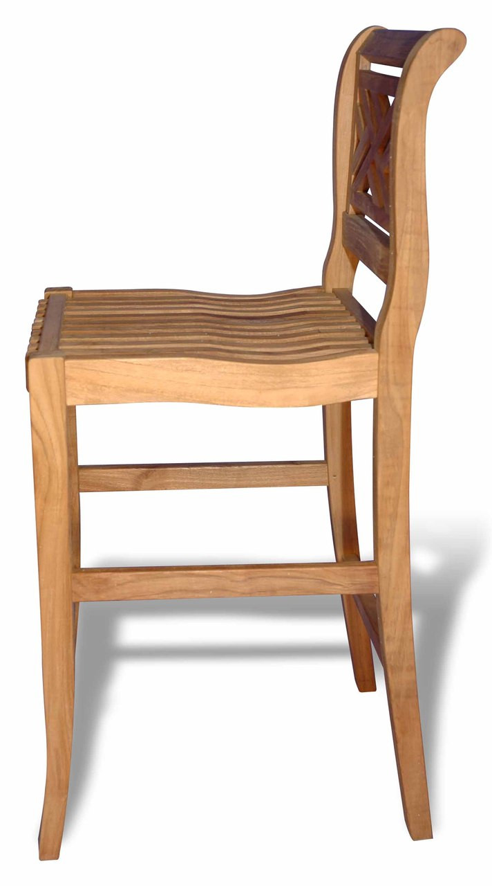 Teak-Chippendale-Bar-Chair-by-Regal-Teak