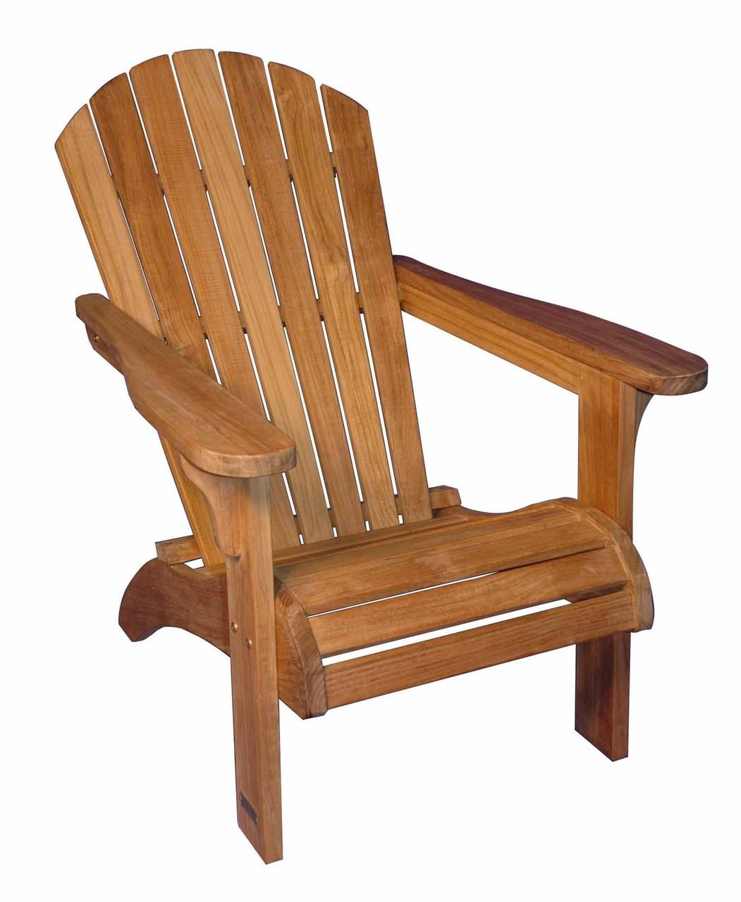 Teak Furniture Adirondack Chair Solid Teak