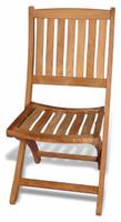 Teak Furniture Teak Providence folding chair