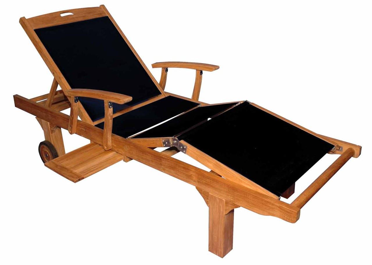 Teak Furniture Teak Sunlounger