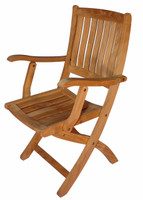 Teak-Providence-Chair-with-arms-by-Regal-Teak