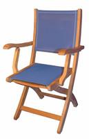 Teak-Providence-Chair-with-Batyline-Blue-by-Regal-Teak