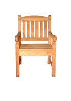 Teak-Newport-Manor-Chair-With-Arms-by-Regal-Teak