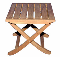 Teak Furniture Teak Foot Stool or