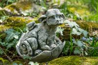 Campania Stone whimper creature statue.