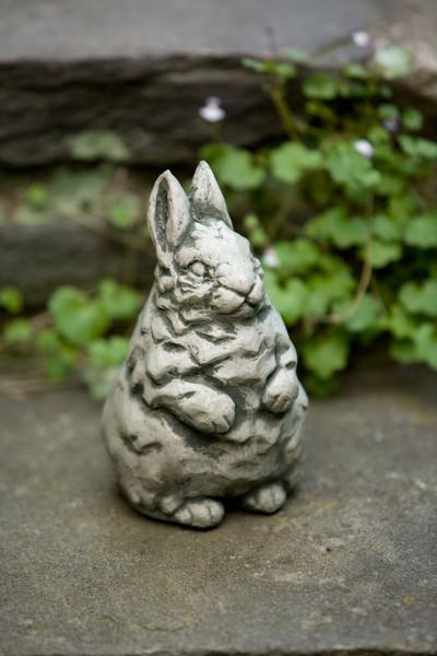 Campania Stone whisper bunny statue.