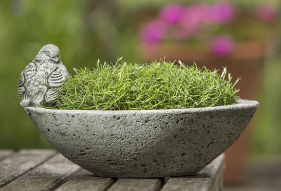Campania Stone aurielle planter.