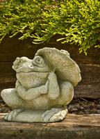 Campania Stone parasol frog.