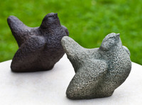 Campania Stone rustic bird color options.