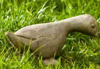 Campania Stone duck itsy statue.