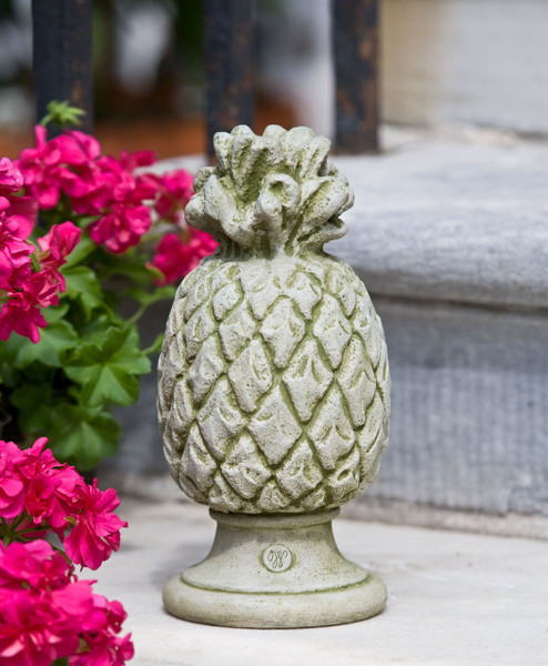 Campania Stone williamsburg pineapple finial.