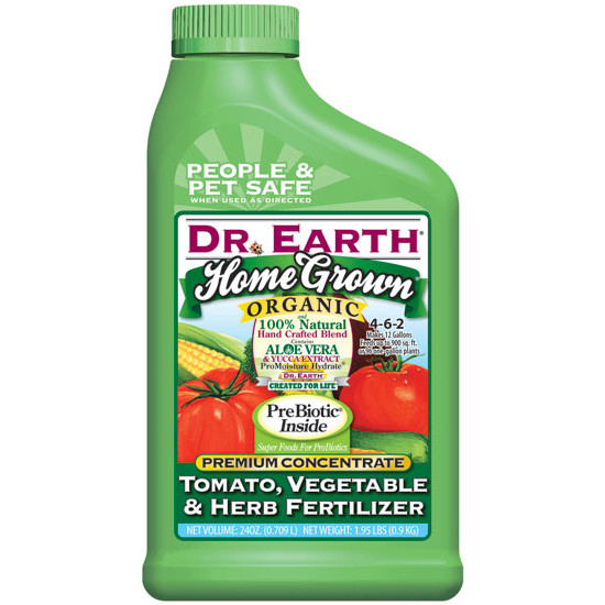 Dr. Earth Home Grown Tomato, Vegetable & Herb Fertilizer - 24 OZ Concentrate