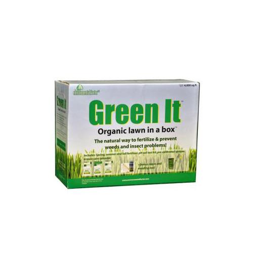 Green It Organic Lawn in a Box
