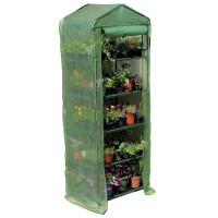 Gardman Greenhouse Mini 4 Tier with Heavy Duty Cover