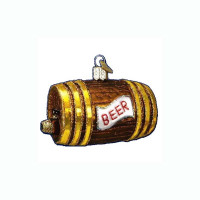 Old World Christmas Beer Keg