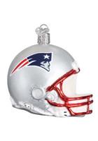 OWC New England Patriots Helmet Glass Blown Ornament