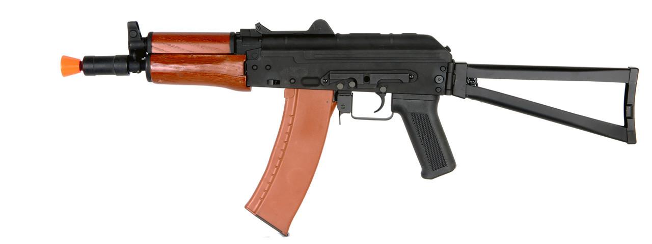 CYMA CM035A Real Wood Version & Full Metal AKS74U Airsoft Rifle