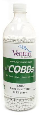 5000 Air Venturi CQBBs 6mm biodegradable  12g BBs