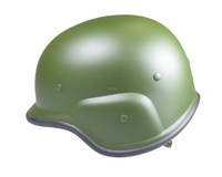 Firepower Replica M9 US Army Plastic Helmet, Green