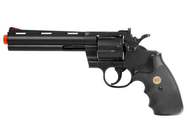 UHC UA938B Spring Airsoft Revolver, Black