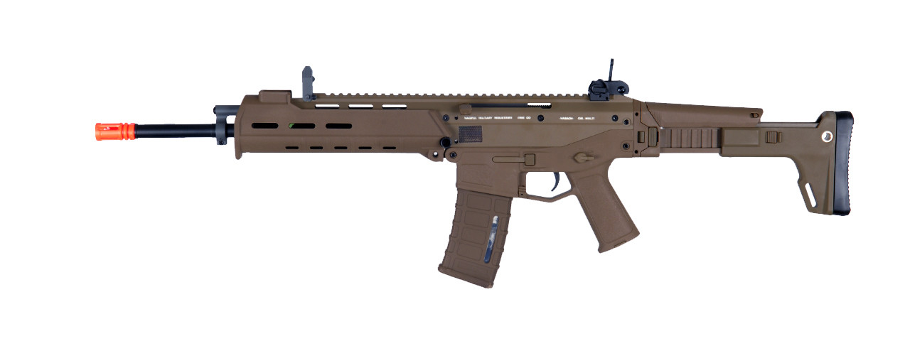 A&K Masada ACR AEG Airsoft Rifle, Dark Earth
