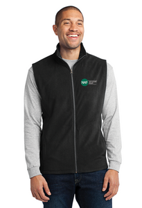 Embroidered Micro Fleece Vest