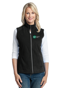 Embroidered Women's Micro Fleece Vest