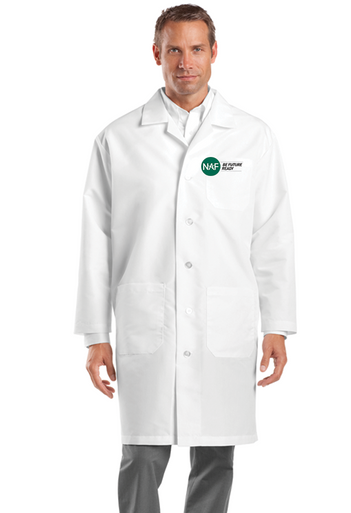 Embroidered Lab Coat