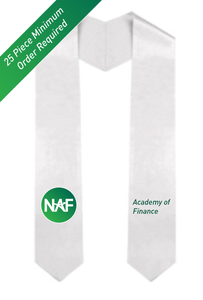 Printed NAF AOF Graduation Stole