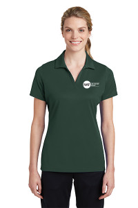 Ladies Racermesh Polo (Green)