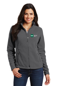 Ladies Fleece Jacket (Gray)