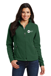 Ladies Fleece Jacket (Green)