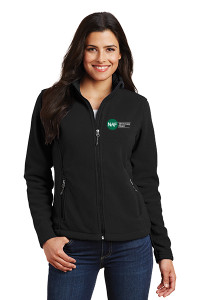Ladies Fleece Jacket (Black)