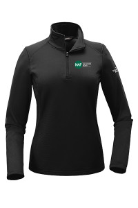 Ladies North Face Tech Fleece Pullover (Black)